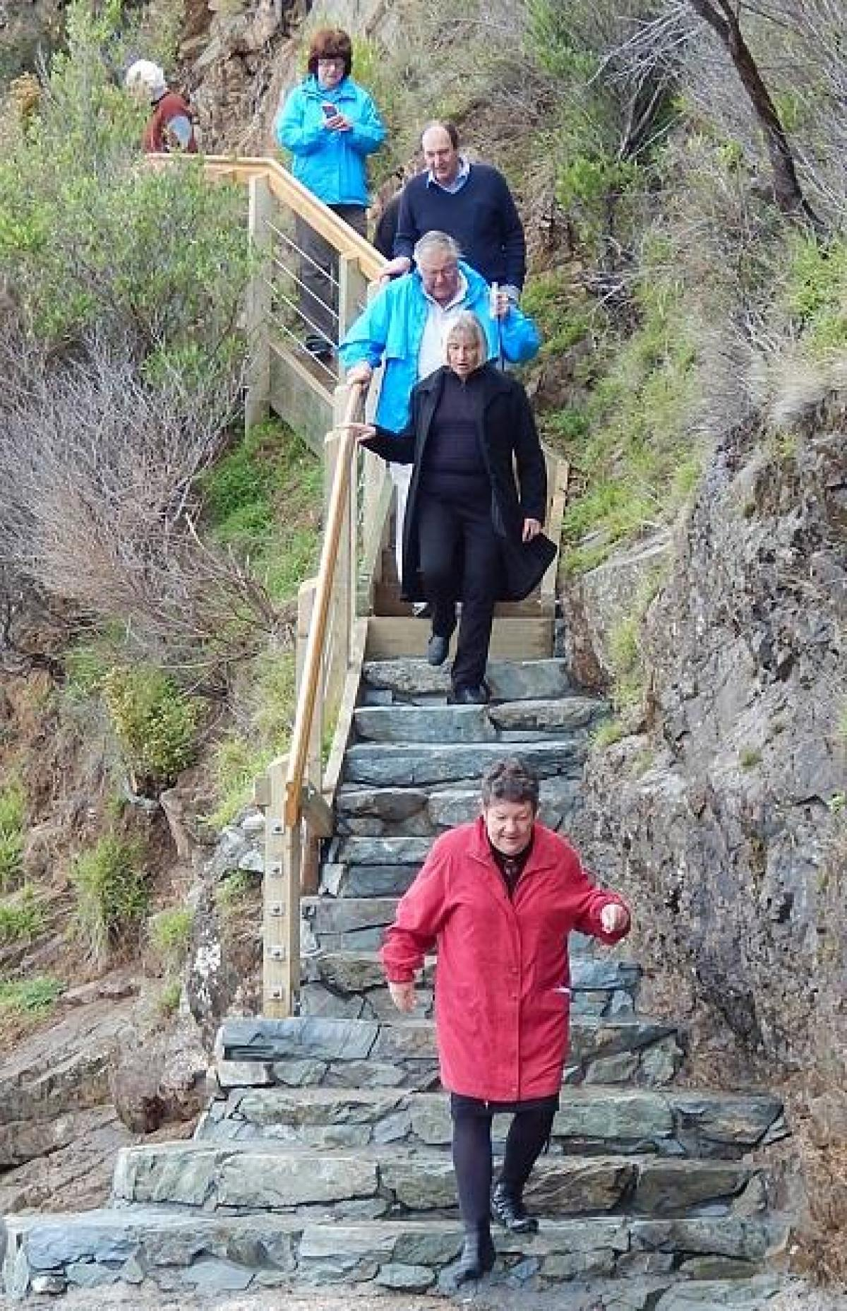 Photo Gallery  - Karaka Point Stairs Upgrade to the Bay